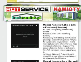 namiociki.com.pl screenshot