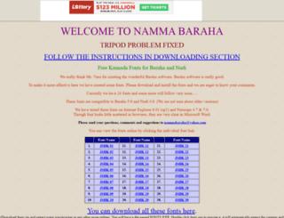 nammabaraha.tripod.com screenshot