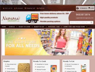 nammagrocery.com screenshot