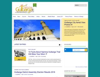 nammagulbarga.com screenshot