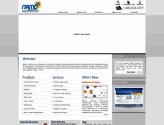 namosolutions.com screenshot