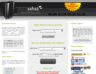 namsahaz.com screenshot