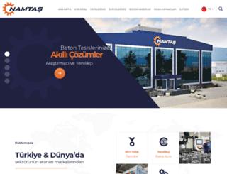 namtas.com screenshot