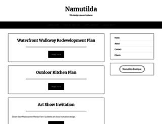 namutilda.com screenshot