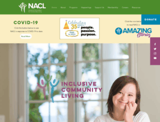 nanaimoacl.com screenshot