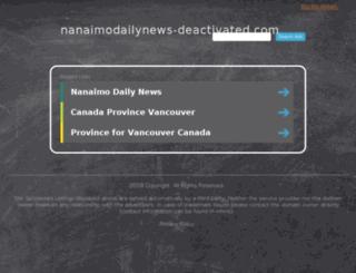 nanaimodailynews.com screenshot