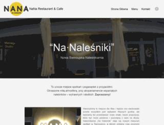 nanalesniki.pl screenshot