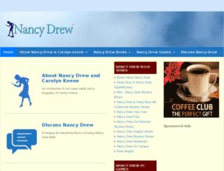 nancy-drew.mysterynet.com screenshot