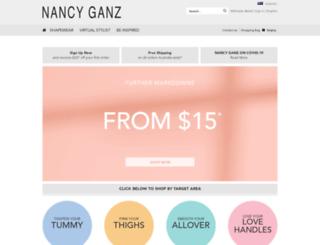 nancyganz.com.au screenshot