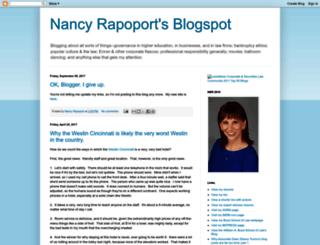 nancyrapoport.blogspot.com screenshot