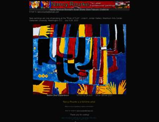 nancyrourke.com screenshot