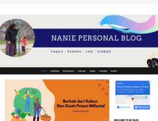 nanie.me screenshot