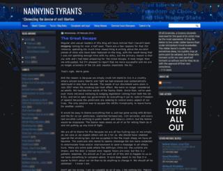 nannyingtyrants.blogspot.de screenshot