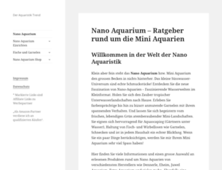 nano-aquarium.de screenshot