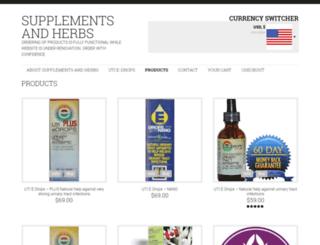 nano-essentials.com screenshot