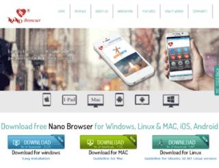 nanobrowser.com screenshot