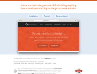 nanoc.stoneship.org screenshot