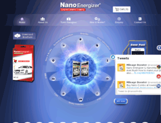nanoenergizer.in screenshot
