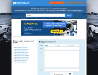 nanoforum.pl screenshot