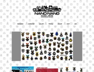 nanonano.jp screenshot