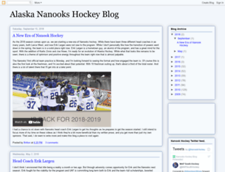 nanookhockey.blogspot.com screenshot