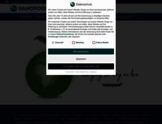 nanopool.eu screenshot