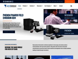 nanoscience.com screenshot