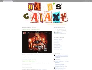 nanosgalaxy.blogspot.com screenshot