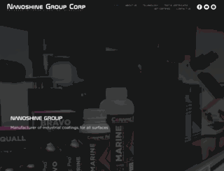 nanoshine-group.com screenshot