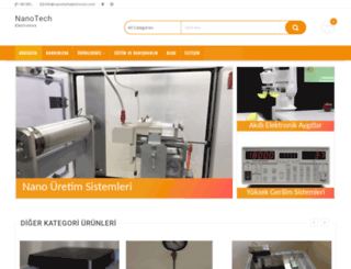 nanotechelectronics.com screenshot