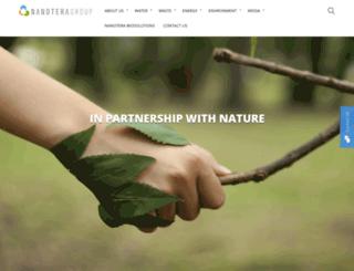 nanoteragroup.com screenshot