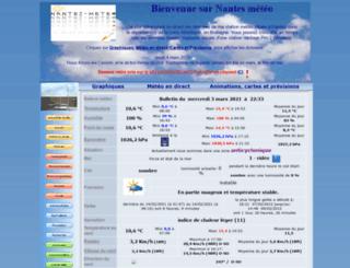 nantes-meteo.fr screenshot