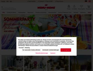 nanunana.de screenshot