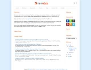 nanwick.com screenshot