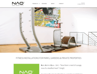 nao.de.com screenshot