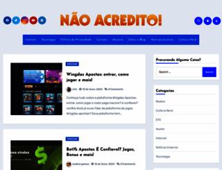 naoacredito.blog.br screenshot