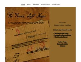 naomilitvin.com screenshot