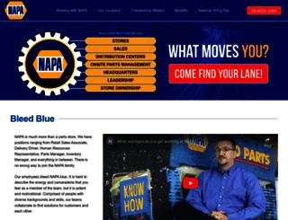 napaautojobs.com screenshot