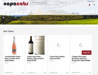 napacabs.org screenshot