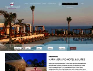 napamermaidhotel.com.cy screenshot