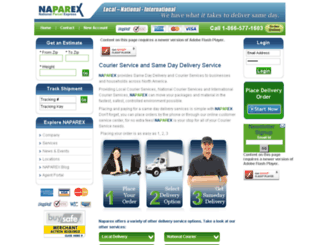 naparex.com screenshot