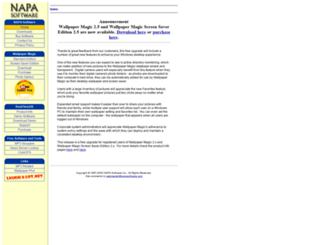 napasoftware.com screenshot