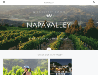 napavalley.winecountry.com screenshot