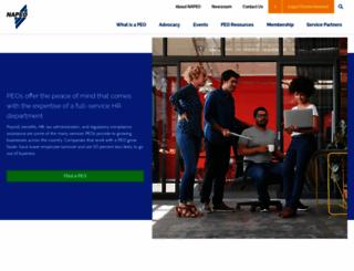 napeo.org screenshot