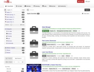 naples.claz.org screenshot