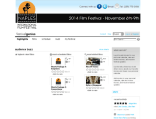 naples.festivalgenius.com screenshot