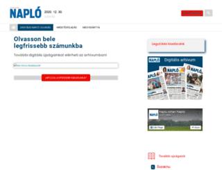 naplo.hu screenshot
