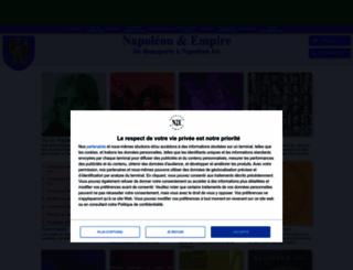 napoleon-empire.net screenshot