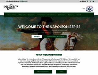 napoleon-series.org screenshot