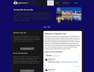 napoleontaxi.com screenshot